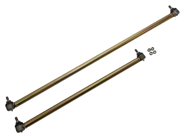 JGS4x4 | Land Rover Series 2, 2A, 3 Heavy-Duty Steering Arms With Greaseable Track Rod Ends - DA5501M