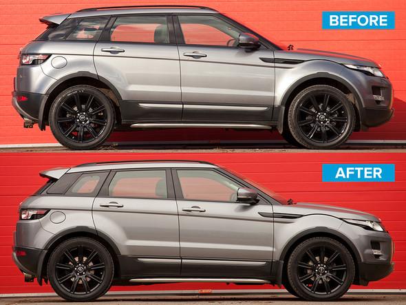 Land Rover Range Rover Evoque 35mm Lowering Spring Kit - DA5135