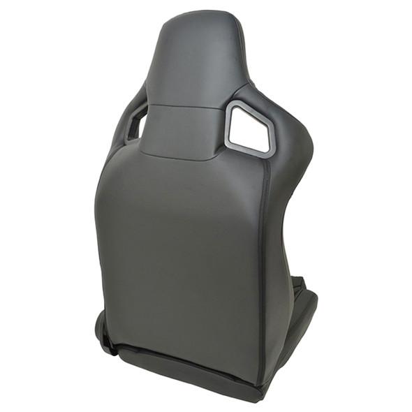 Defender Dakota Leather RRS Low Base Seat Pair Corbeau - DA7311
