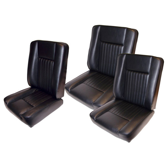 Series Deluxe Seat Kit Black - DA4298