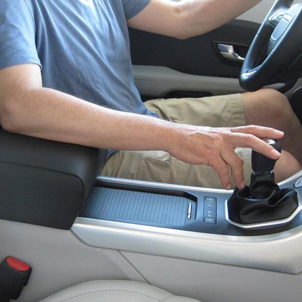 Range Rover Evoque Non Adjustable Armrest Black Leather - DA5122