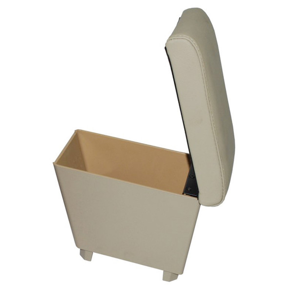 Freelander 2 Cubby Box & Armrest Almond Leather - DA5112
