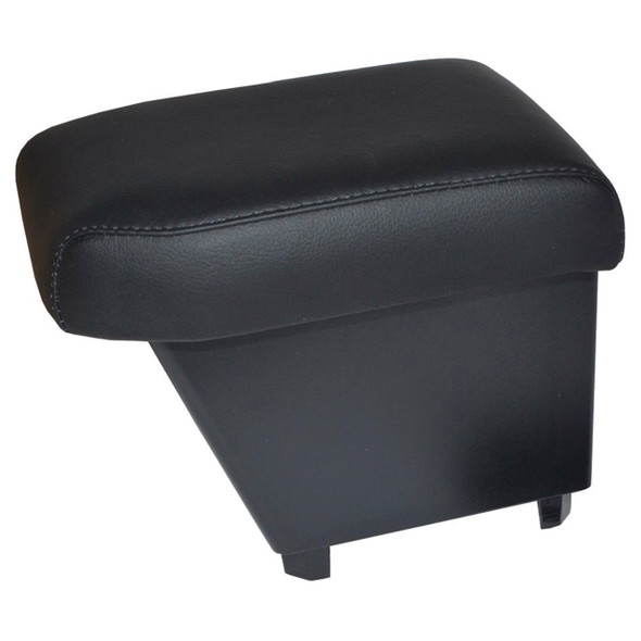 Freelander 2 LHD Cubby Box & Armrest Black Real Leather - DA5104