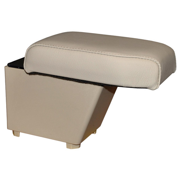 Freelander 2 RHD Cubby Box & Armrest Almond Leather - DA5113