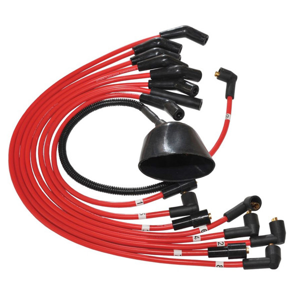 Discovery 1 & Range Rover Classic Ignition Lead Set Red - DA4104RED