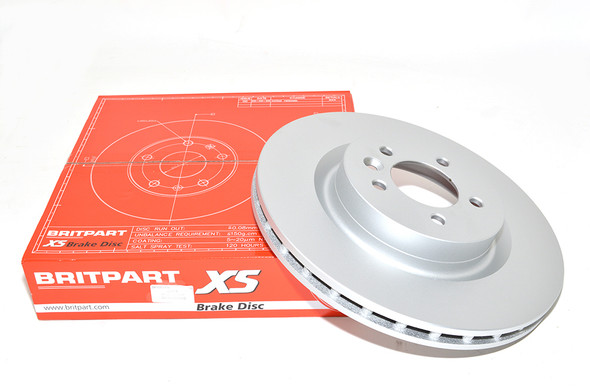 Land Rover Discovery 5 L462 Front Vented Brake Discs - Exact OEM Specification - LR038934G