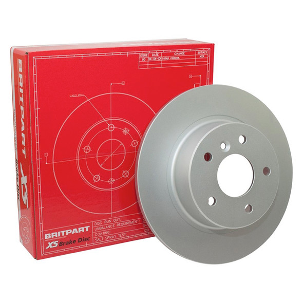 Defender & Discovery 1 & Range Rover Classic Rear Solid XS Brake Disc - FTC1381G