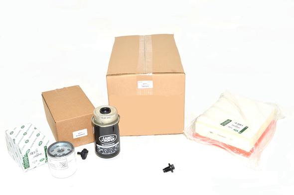 Defender 2.2 TDCi Puma 2012-2016 Engine Service Filter Kit Genuine Land Rover - DA6109LR