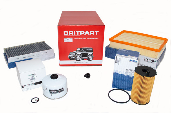 Land Rover Range Rover Sport L320 2.7 V6 diesel OEM Premium Engine Service Filter Kit - DA6048P