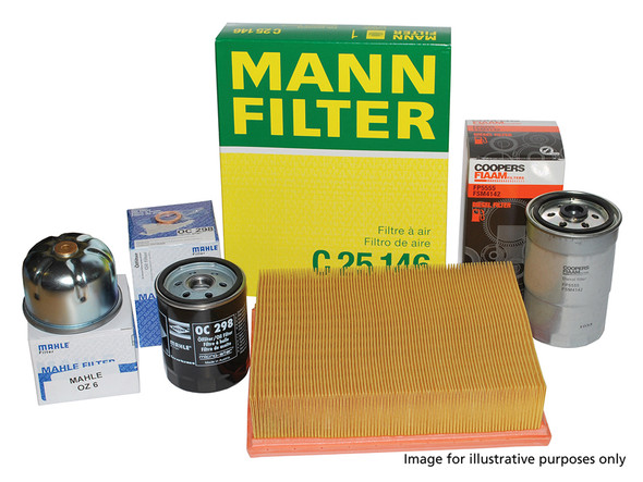 Land Rover Range Rover L322 4.4 V8 M62 OEM Premium Engine Service Filter Kit - DA6031P