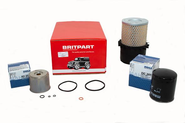 Land Rover Defender 2.5 Diesel OEM Premium Engine Service Filter Kit - DA6001P