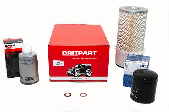 Land Rover Defender 200Tdi OEM Premium Engine Service Filter Kit - DA6002P