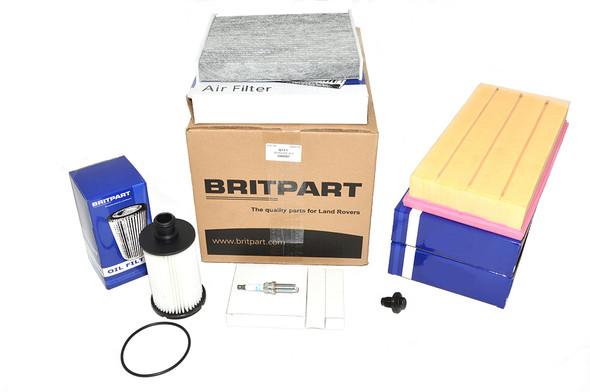 Land Rover Range Rover Sport L494 3.0 V6 Petrol Engine Service Filter Kit - DA6097