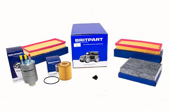 Land Rover Range Rover Sport L494 3.0 V6 Diesel Engine Service Filter Kit - DA6095