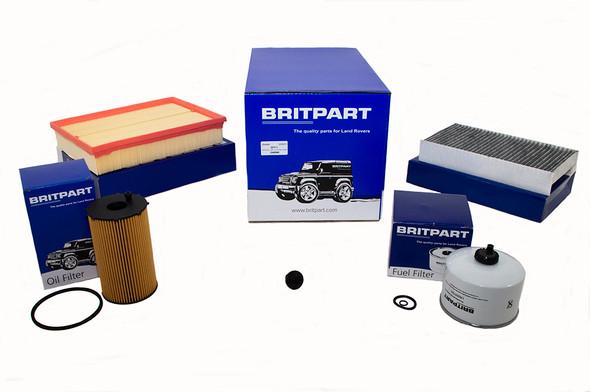 Land Rover Range Rover Sport L320 2.7 V6 Diesel Engine Service Filter Kit - DA6048