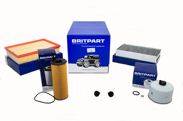 Land Rover Range Rover Sport L320 3.6 Diesel Engine Service Filter Kit - DA6036