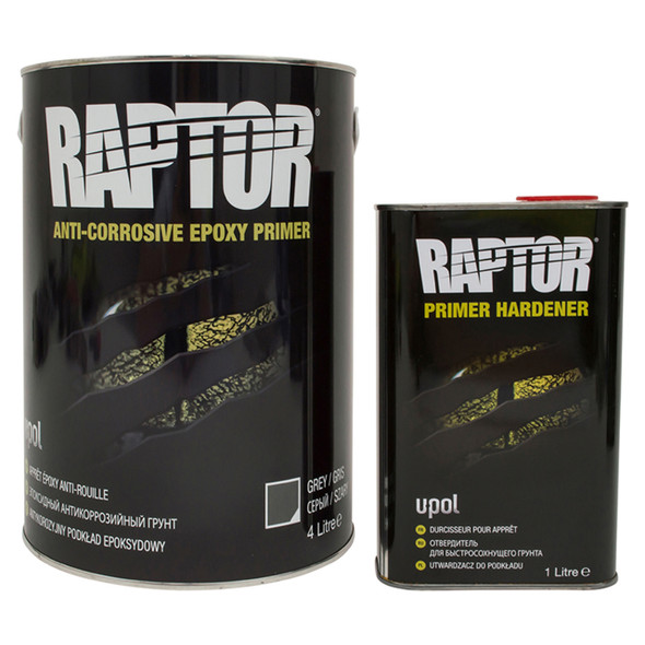 Anti-Corrosive Epoxy Primer Kit 5 Litre Raptor - DA6616