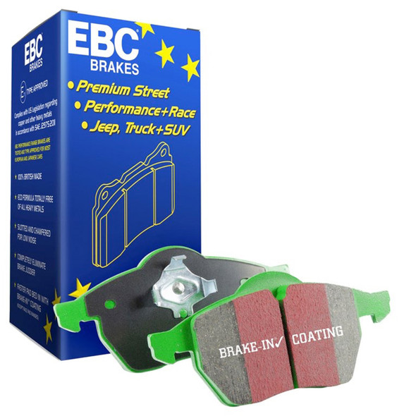 JGS4x4 | Range Rover L322 2002-2006 Rear Brake Pads EBC Green Stuff - DA4483