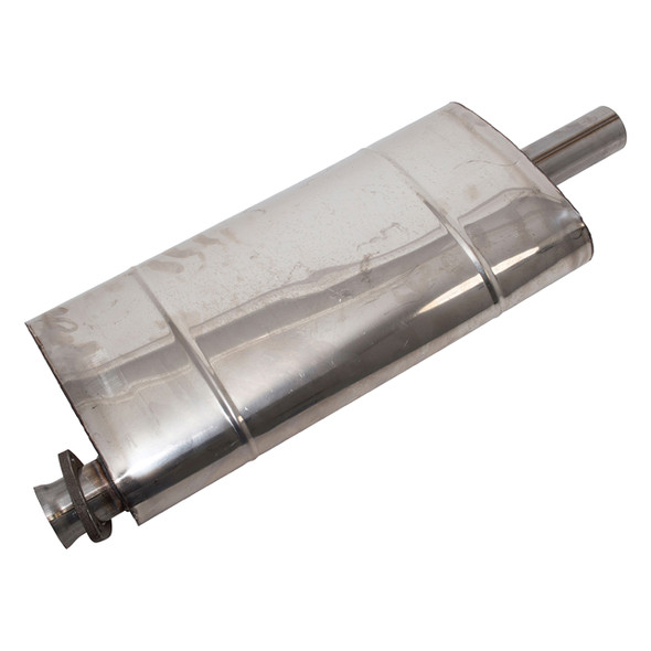 Discovery 1 & Range Rover Classic Intermediate Silencer Double SS - NTC1322SS