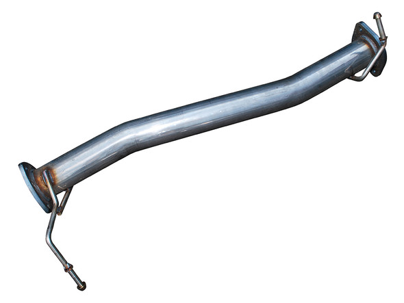 JGS4x4 | Land Rover Defender 90 Puma Front Exhaust Silencer Replacement Pipe - DA4371