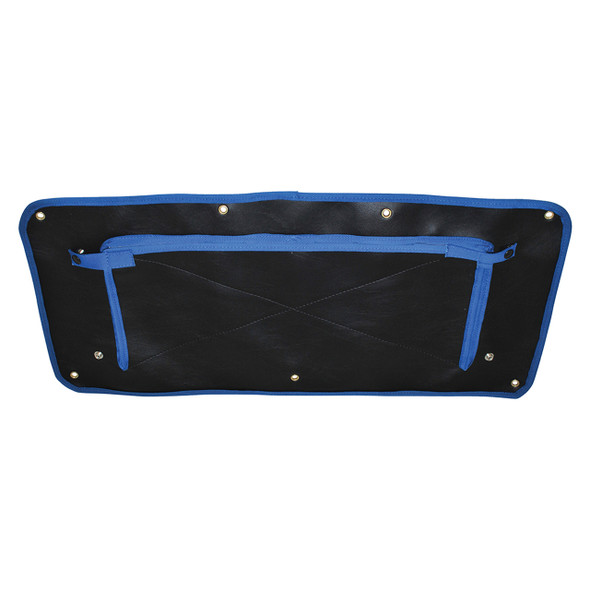 Defender Radiator Muff Blue Edging - DA2161BLUE