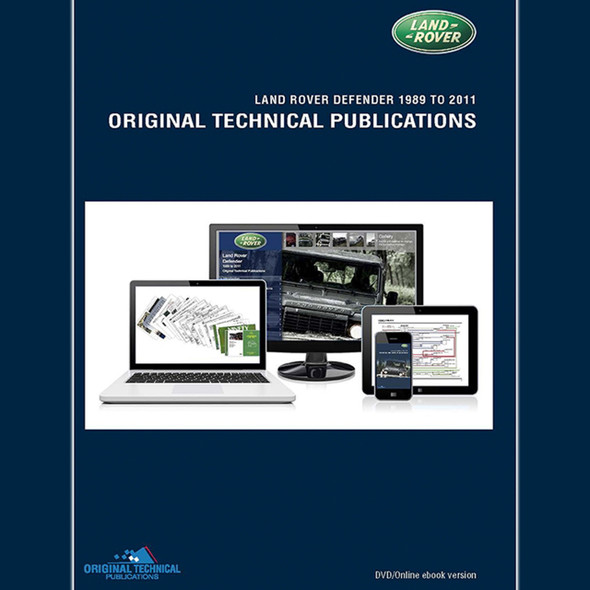 Defender Original Technical Publications DVD/Online eBook - LTP3003