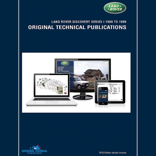 Discovery 1 Original Technical Publications DVD/Online eBook - LTP3004