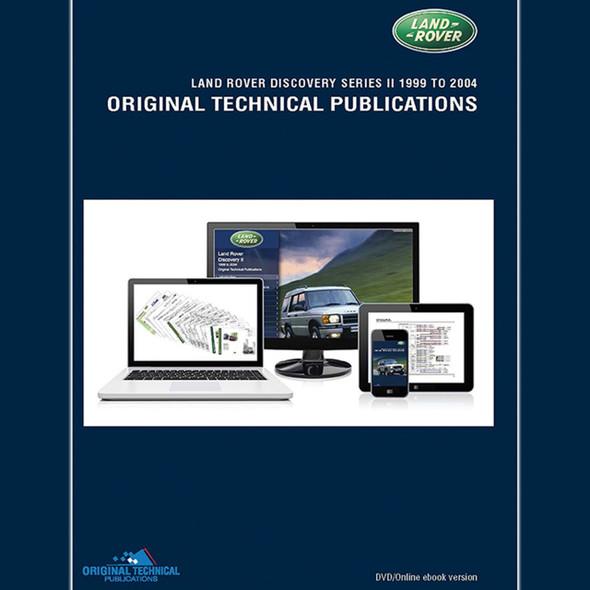 Discovery 2 Original Technical Publications DVD/Online eBook - LTP3006