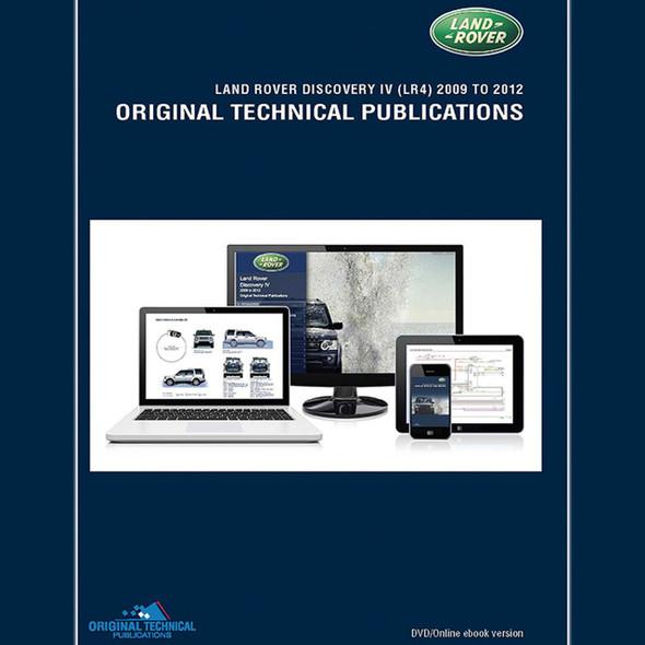 Discovery 4 Original Technical Publications DVD/Online eBook - LTP3017