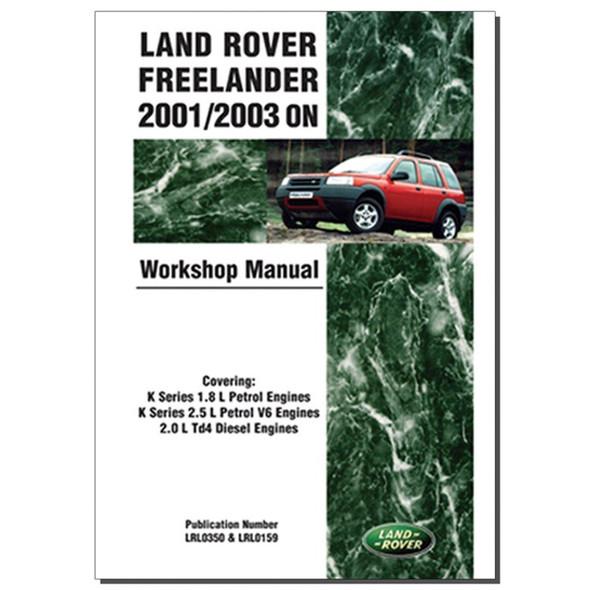 Freelander 1 Work Shop Manual Brooklands - DA3147