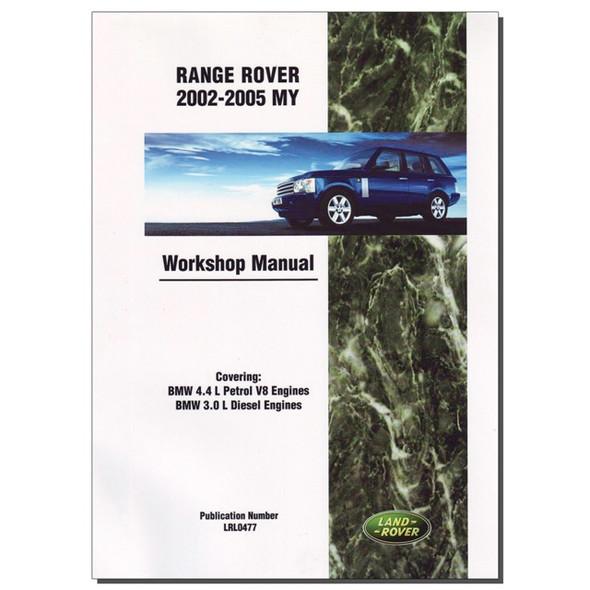 Range Rover L322 Workshop Manual Brooklands - DA3148