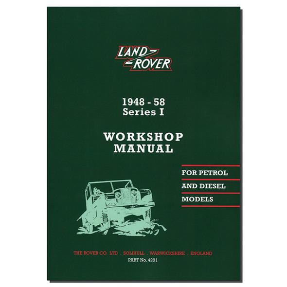 Series 1 Workshop Manual Brooklands - RTC9839C