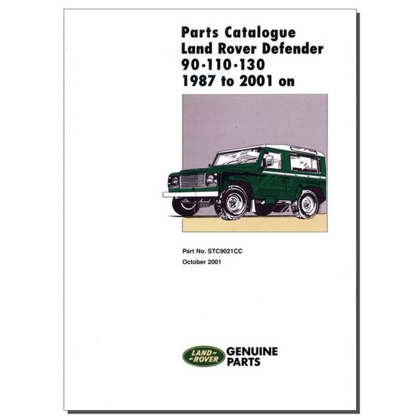Defender Parts Catalogue Brooklands - STC9021CC