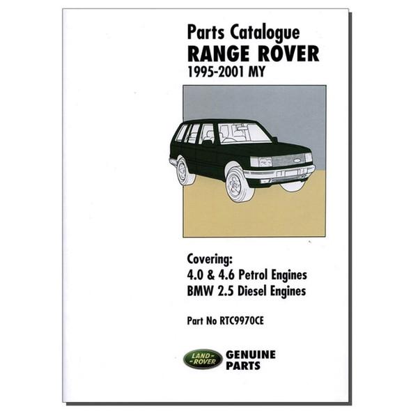 Range Rover P38 Parts Catalogue Brooklands - RTC9970CE