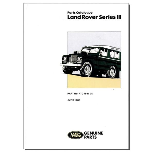 Series 3 Parts Catalogue Brooklands - RTC9841CE