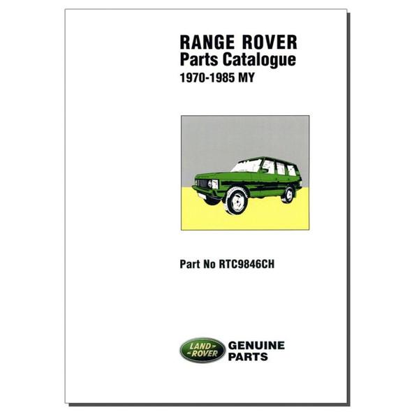 Range Rover Classic Parts Catalogue Brooklands - RTC9846CH