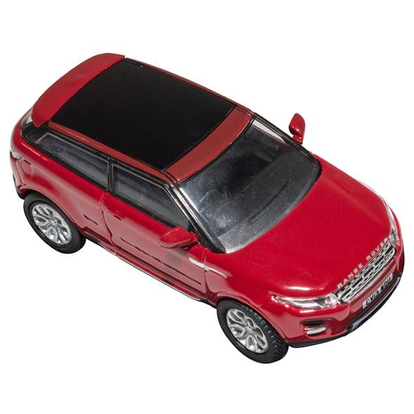 Range Rover Evoque Die-Cast 1:76 Scale Model Toy Firenze Red - DA1318