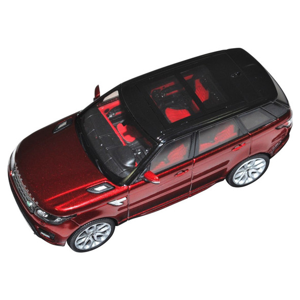 Range Rover Sport Diecast Model Chile Red - LRDCA494