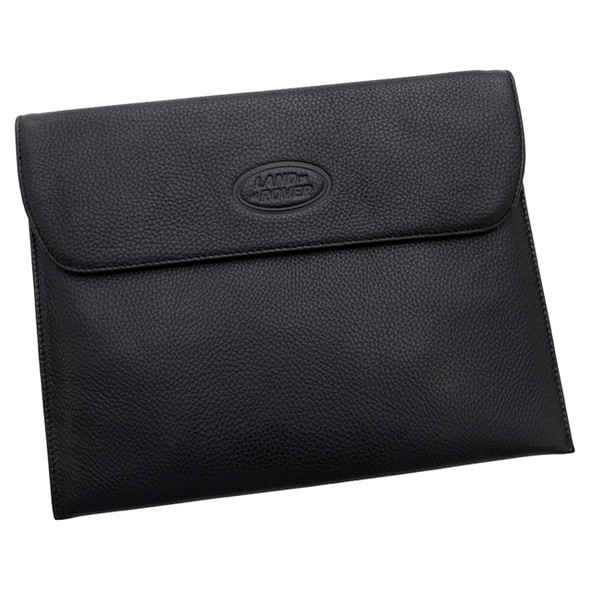 Leather IPad Cover Black Land Rover - LRLUGNIP