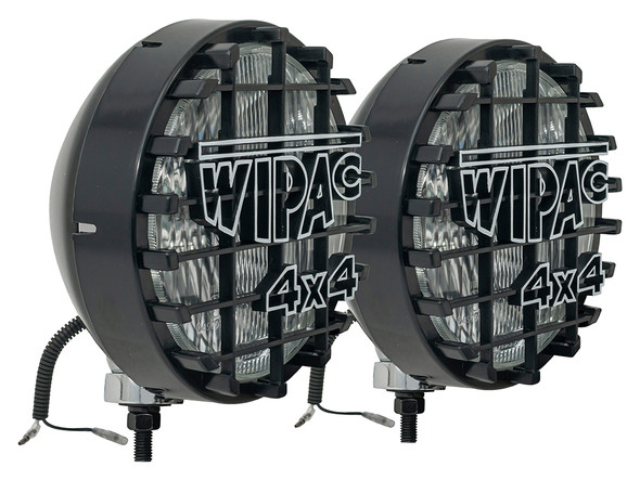 "JGS4x4 | Wipac 8"" Driving Lights Round 100 Watts Black - DA4088W"