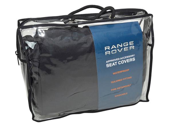 Land Rover Range Rover Sport L320 Front Premium Waterproof Seat Covers Black - VPLWS0228PVJ