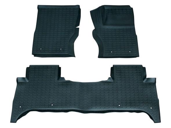 Land Rover Range Rover Sport L494 Rubber Floor Mat Set Black RHD - DA4823