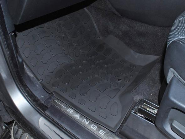 Land Rover Range Rover Sport L320 Rubber Floor Mat Set Black RHD - DA4804