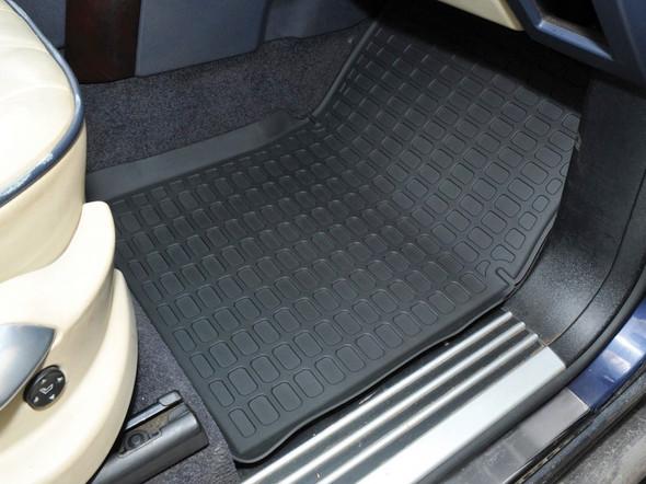 Land Rover Range Rover L322 Rubber Floor Mat Set Black LHD - DA4807
