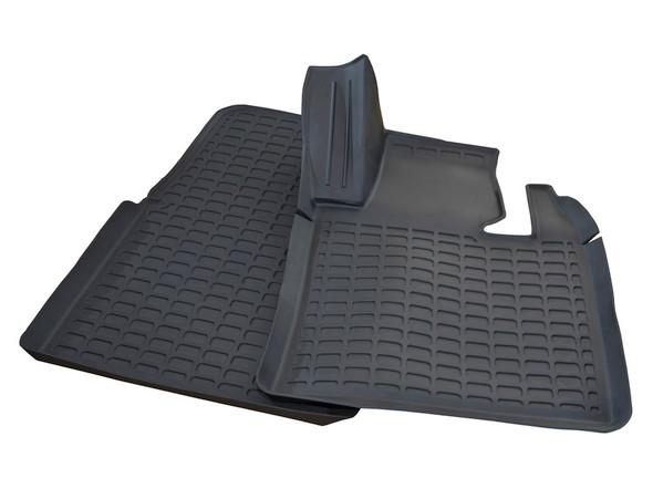 Range Rover L322 Rubber Floor Mat Set Black RHD - DA4808