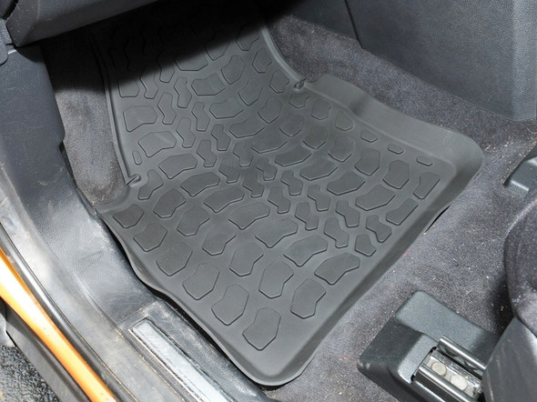 Land Rover Freelander 2 L359 Rubber Floor Mat Set Black RHD - DA4800