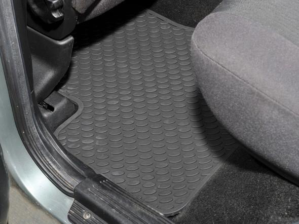 Land Rover Freelander 1 L314 Rubber Floor Mat Set Black RHD / LHD - DA4429