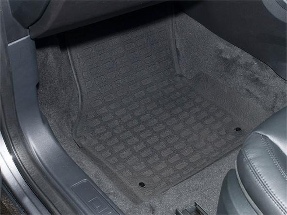 Land Rover Discovery Sport L550 Rubber Floor Mat Set Black RHD - DA4827