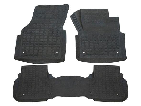Discovery Sport L550 Rubber Floor Mat Set Black RHD - DA4827