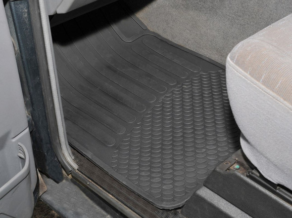 Land Rover Discovery 1 Rubber Floor Mat Set Black RHD - DA4426